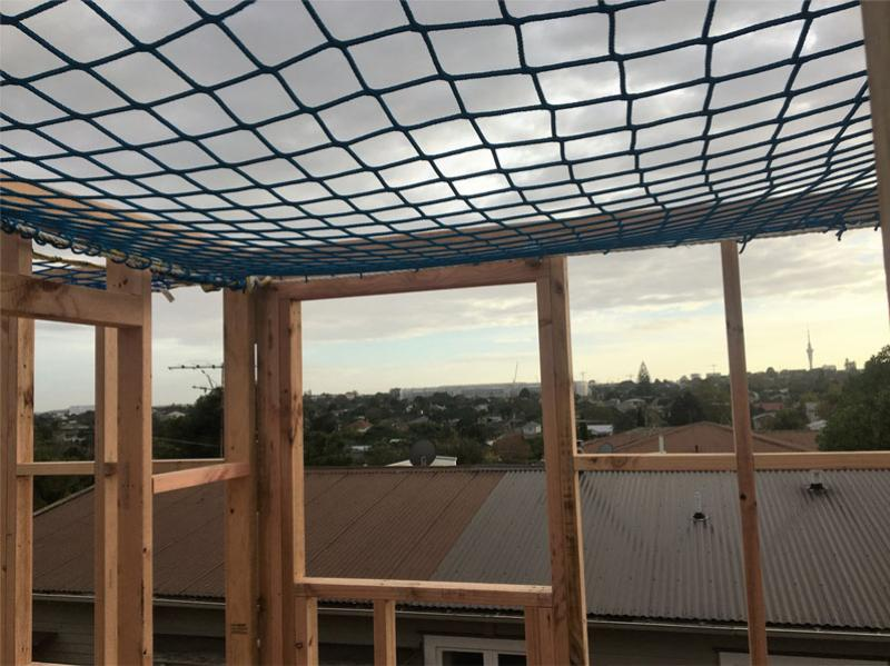 Safety nets installed at Auckland job