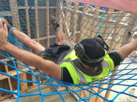 Safety nets prevent falls